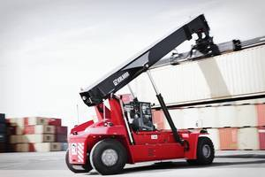 Kalmar launches its fifth generation Gloria reachstackers