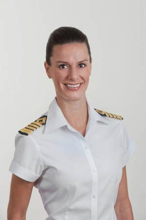 Captain Kate McCue (Photo: Celebrity Cruises)
