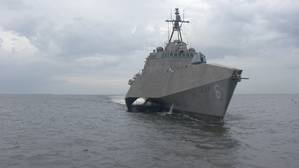 Austal recently delivered LCS 6 to the U.S. navy (Photo: Austal)