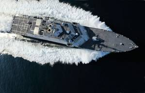 Littoral Combat Ship: Image credit Rolls-Royce