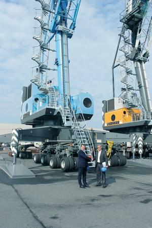 Photo courtesy of Liebherr Maritime Cranes