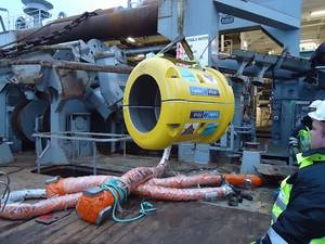 Lankofirst fiber rope connector offshore trial