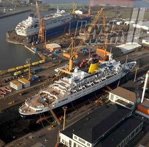 Braemar & Balmoral: Photo credit Lloyd Werft Bremerhaven AG