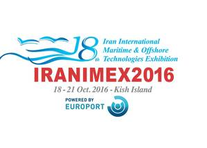 Logo Iranimex, powered by Europort,
