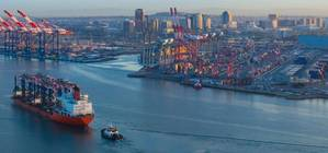 Photo:  Long Beach Container Terminal LLC