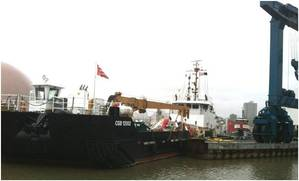 Mobile Bay: Photo credit Great Lakes Shipyard