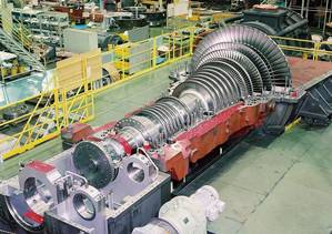 Steam Turbine Manufacture: Photo credit MHI