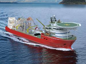 Diamond Deal: De Beers Marine Namibia, part of De Beers Group, signed a deal with Kleven to build a specialized vessel for deep water mineral exploration.