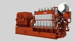 MaK M 32 E engine platform