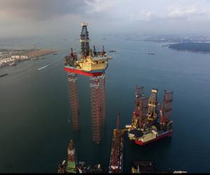 Worlds Largest Jack-up Rig: Photo courtesy of Maersk Drilling