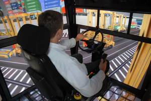 Management buyout will enable GlobalSim to focus on its core port crane, construction crane, military crane, and other heavy equipment simulator development. Photo GlobalSim