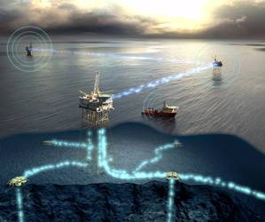 A key aspect of Tampnet's 4G infrastructure service for offshore communication is low latency. (Image: Marlink)
