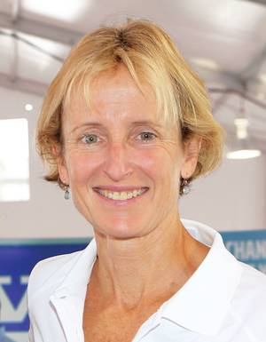 Marcia Kull (Photo: Volvo Penta)