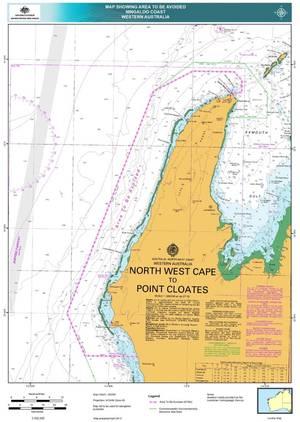 Marine Notice Chartlet: Image credit AMSA