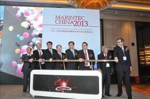 Opening ceremony: Photo credit Marintec 2013