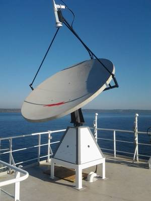 Maritime Broadband C-Bird antenna