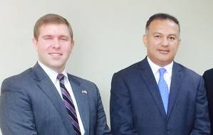 Jonathan McConnell, Fernando Solorzano (Photo: Meridian)