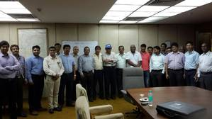 Members of the Kolkata Chapter
