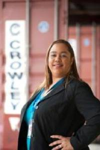 Crowleys Michelle Pacheco Rivera: Photo credit Crowley Maritime Corp.