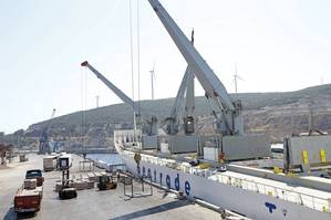 Vessel at Port of Izmir (Photo: Milaha)