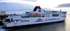 MyFerry vessel: Photo courtesy of Maritime London