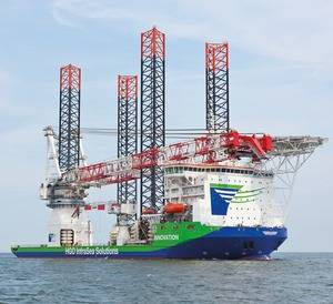 Heavy-lift Ship Innovation: Photo credit Liebherr