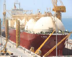 N-KOM DRYDOCK RECEIVE FIRST QATARGAS VESSEL.bmp