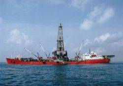 Drill Ship Energy Searcher: Photo credit Northern Offshore