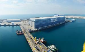 Nakilat Damen Shipyards Qatar (Courtesy Nakilat Damen Shipyards Qatar)
