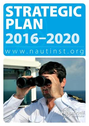 Nautical Institute Strategic Plan 2016-2020
