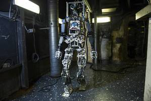 U.S. Navy Firefighting Robot (image: courtesy U.S. Navy)