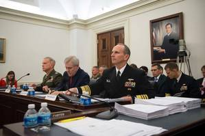 ADM Greenert at the Hearing: USN Photo