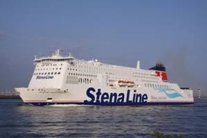 Ro-Pax Ferry: Photo courtesy of Stena Line