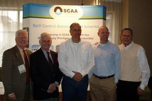 From left to right: John Allen, SCAA Executive Director; Mike Gallagher, Harry Bedrossian, Devon Grennan and Andrew Altendorf, SCAA President (Photo: SCAA).