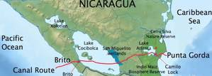 Nicaragua Grand Canal project by HKND