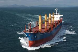File Image: a dry bulk vessel underway (CREDIT: Norden)