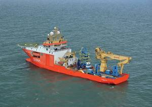 Ceonas DP3 Multi-purpose Vessel, the Normand Pacific (Credit NCS Survey)