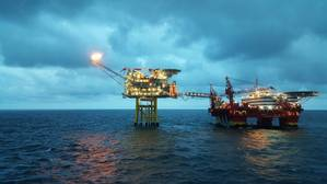 File Image: a typical offshore North Sea installation (Credit: Craig International)