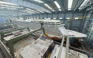 Norwegian Getaway: Photo courtesy of Meyer Werft