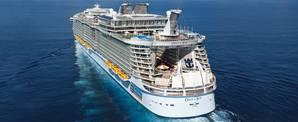 Oasis class ship: Image courtesy of RCI
