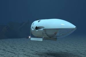Cyclops Subsea Manned Submersible: Image credit OceanGate