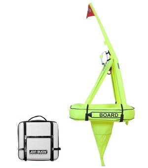 Jonbuoy man overboard recovery system