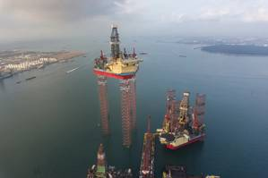 Ultra-deepwater rig: Photo Maersk