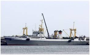 JSC Pilenga's Ostrov Sakhalin, a BATM-class supertrawler (Photo: Naust Marine)
