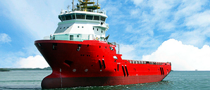 An Otto Marine Vessel: Photo courtesy of Otto Marine