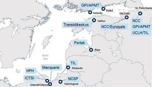 Ownership of selected container terminals in the Eastern Baltic (Drewry)