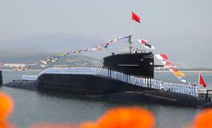 PLA Navy submariners: Photo credit PLAN