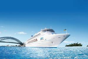 Pacific Jewel is part of the P&O Cruises fleet of three ships currently based in Australia.