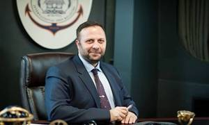 Panos Kirnidis, Chief Executive, Palau International Ship Registry, in his new European Head Office in Piraeus, Greece. (Photo: PISR)