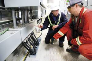 The Roxtec maintenance team can follow-up and assist according to the inspection report and documentation. Roxtec helps with urgent corrective actions and provides long-term services. (Photo: Roxtec)